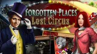 Forgotten Places Lost Circus HD iPad App Review (Demo)