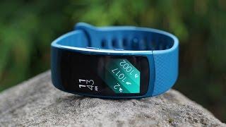 استعراض للسوارة الذكيّة Samsung Gear Fit 2
