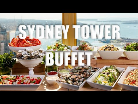 KATY EATZ Ep. 2 - SYDNEY TOWER BUFFET EXPERIENCE & CITY VIEWS (VLOG 14) | Katyyho