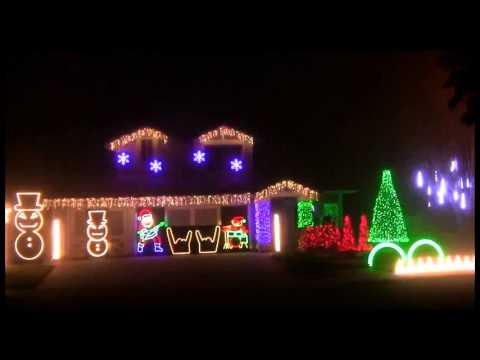 Metallica Christmas Lights:
