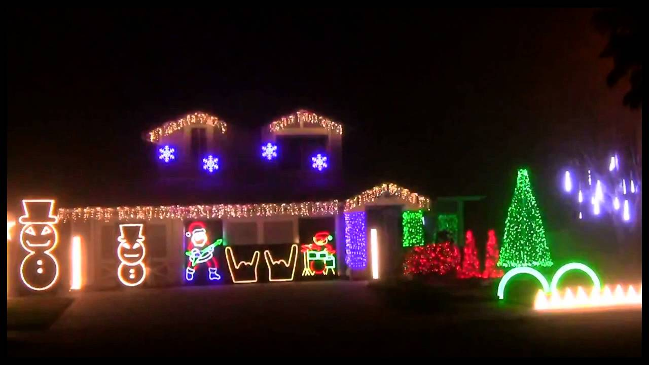 Metallica Christmas Lights: \