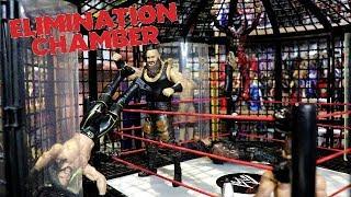 Elimination Chamber 2018!!!   WDW #14   WWE Mattel Figure Fun!!!