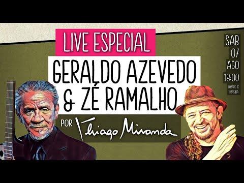 Live Especial - ZÉ RAMALHO e GERALDO AZEVEDO por Thiago Miranda #LiveDoMiranda #162