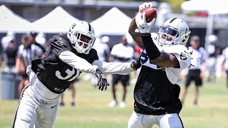 Cordarrelle Patterson Mic'd Up At Training Camp