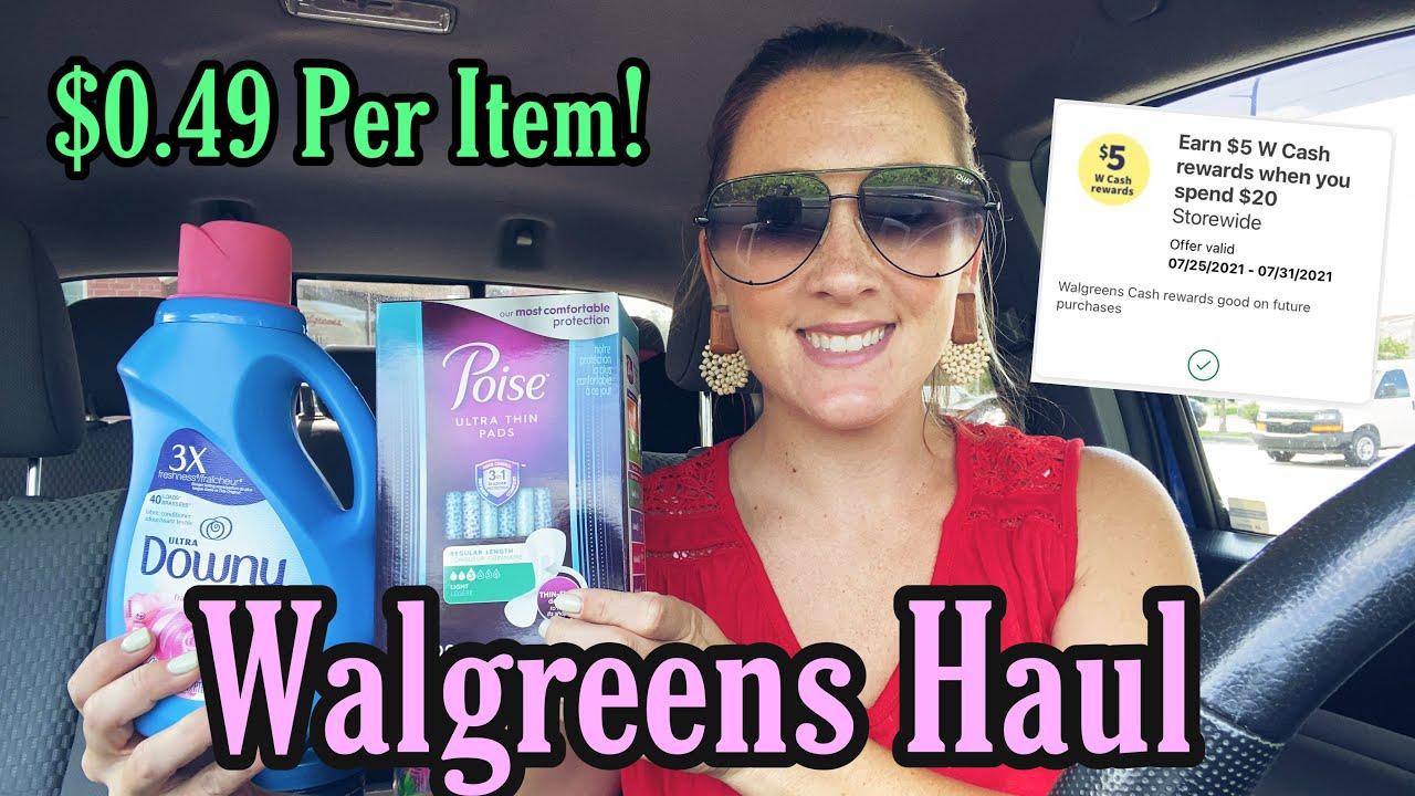 Walgreens Haul - 3 Beginner FREE Transactions! 7/25-31/21
