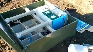 Септик в работе(Как работает система биологической очистки сточных вод. http://tehnostroy-vrn.ru., 2016-03-02T05:46:57.000Z)