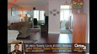 80 Alton Towers Circle #1501, Toronto - Home for Sale by Syed Abbas, Sales Representative