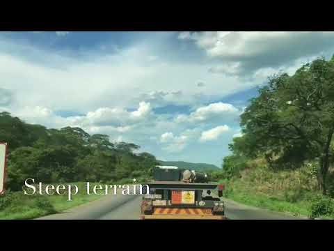 Zambian Roads - Lusaka Chirundu Hills