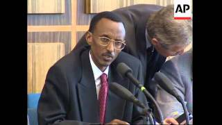Video GERMANY: RWANDA'S VICE-PRESIDENT PAUL KAGAME VISIT download MP3, 3GP, MP4, WEBM, AVI, FLV Oktober 2018
