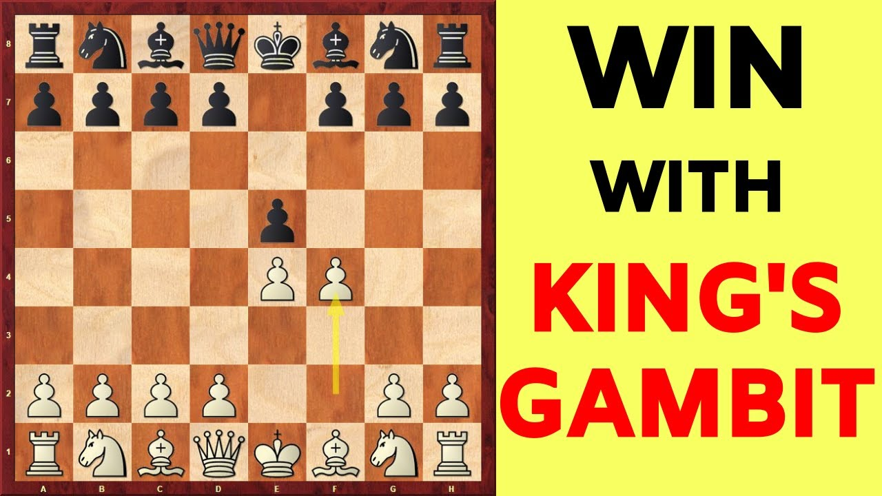 King's Gambit: Chess Opening for White to WIN!