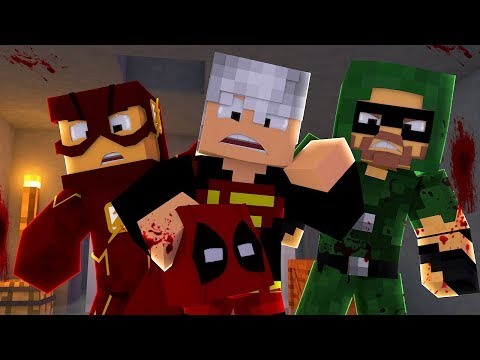 Minecraft: ACHAMOS A MÁSCARA DO DEADPOOL ! - The Walking Craft 2 ‹ Ine ›