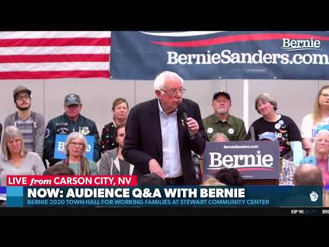 Bernie Speaks to Working Families in Carson City