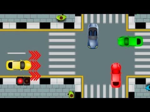 Мультики про машинки развивающие - Азбука безопасности - Пешеходный переход! игры новинки 2018