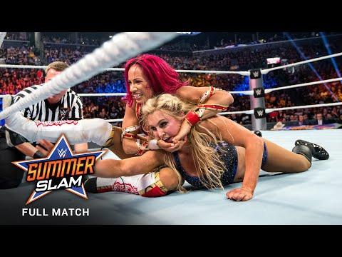 FULL MATCH - Sasha Banks vs. Charlotte Flair - WWE Women's Title Match: SummerSlam 2016