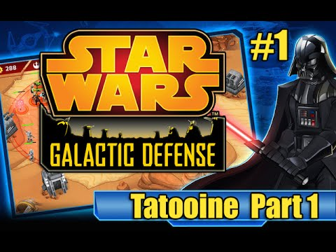 Star Wars Galactic Defense - #1 Tatooine part 1 (Let's Play SWGD)