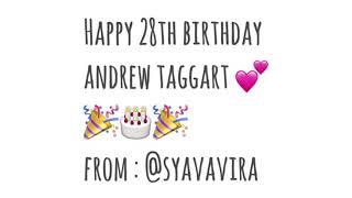 Happy Birthday Andrew Taggart??
