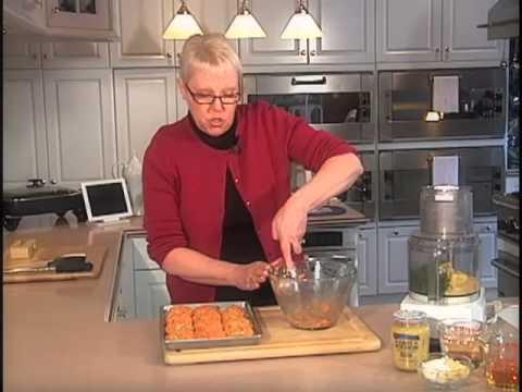 Salmon Patties w Mustard Dill Sauce