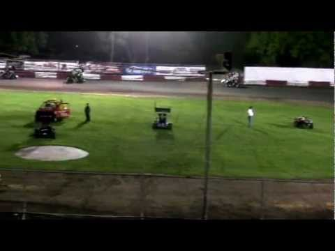 Dominic Scelzi 4/27/12 Plaza Park Raceway Super 600 Main Event