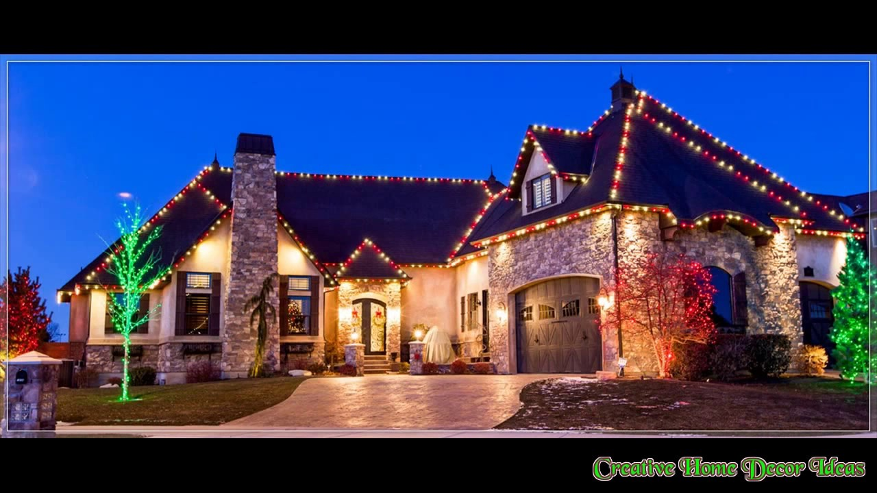 Traditional outdoor christmas lights ideas youtube traditional outdoor christmas lights ideas aloadofball Image collections