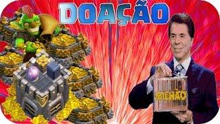 Clash of Clans-Doação de 1 Milhão Em Moedas De Ouro! Que Vale Mais Que Dinheiro!!!!!