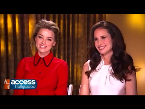 Amber Heard & Andie MacDowell Describe Being On Set For 'Magic Mike XXL'