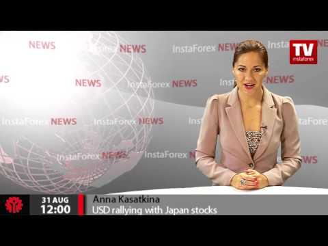 USD rallying with Japan stocks