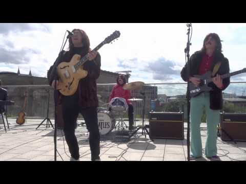 Them Beatles, Come Together, (ROOFTOP SHOW)