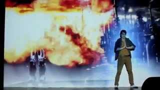 Танцевально-мультимедийное шоу VIRGO номер 'Industrial'