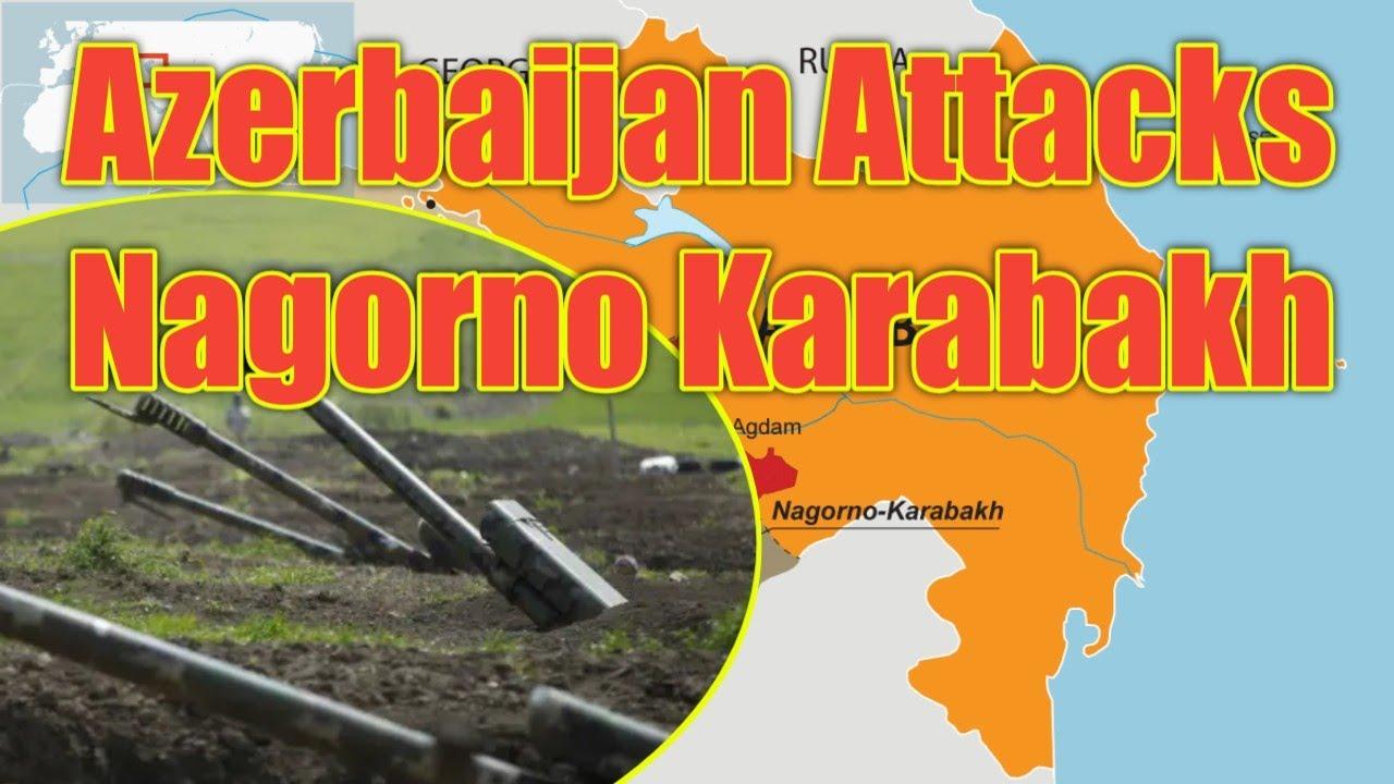 Hot News Azerbaijan And Armenia Clash Over Disputed Nagorno Karabakh Region Nagorno Karabakh Armenia Youtube
