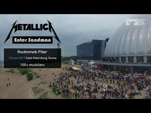 Metallica - Enter Sandman (RocknMob Saint-Petersburg) Mass Cover