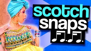 Scotch Snaps in Hip Hop