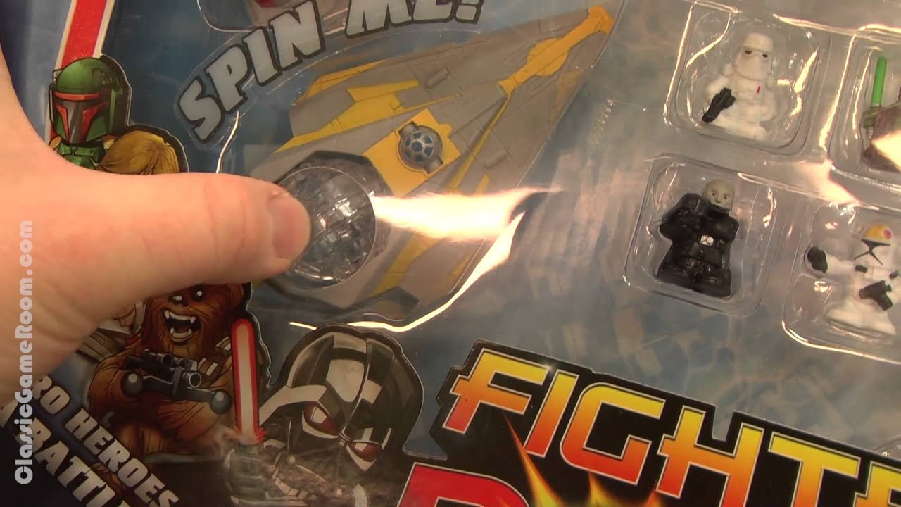 Classic Game Room - CGR Toys STAR WARS FIGHTER PODS review - YouTube