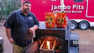 My new Jambo Pit - Offset Stick Burner