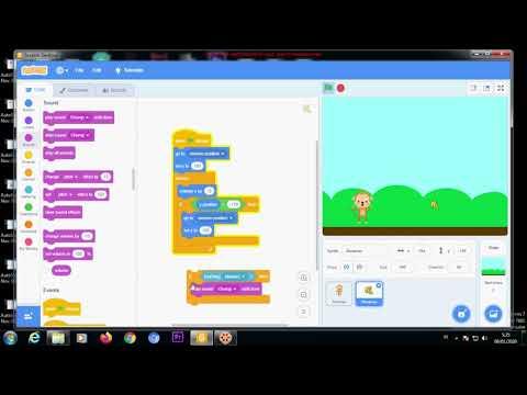 Pemrograman Scratch - Game Monyet Part 1