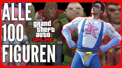 Alle 100 Action Figuren Fundorte - GTA 5 ONLINE Deutsch PS4