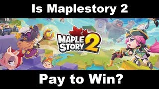 Is Maplestory 2