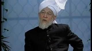 Liqa Ma'al Arab 18 December 1997 Question/Answer English/Arabic Islam Ahmadiyya