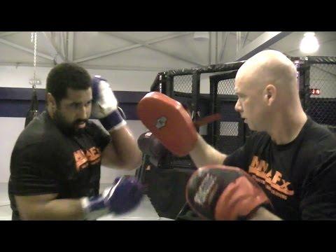 John Urschel - MMA (Hand Speed and Agility Drills)