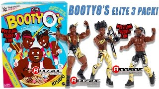 WWE FIGURE INSIDER: Booty O's WWE Elite 3-Pack - The New Day Wrestling Toy Figures by Mattel