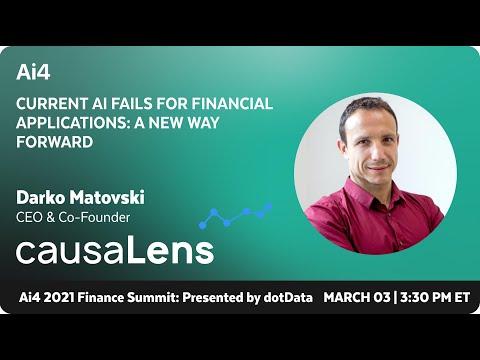 Current AI Fails for Financial Applications: A New Way Forward