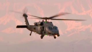United States Air Force Pararescue • HH-60s Take Off From Bagram Airfield