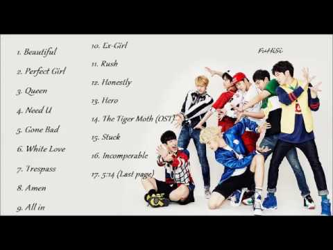 Playlist #15 - Monsta X ( 몬스타엑스) Song Compilation #2YearswithMonstaX