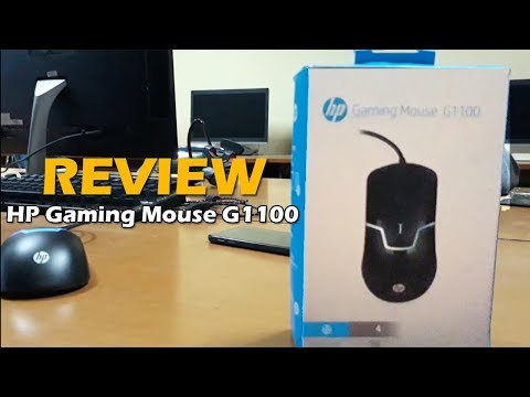 Review HP Gaming Mouse G1100 (Indonesia)