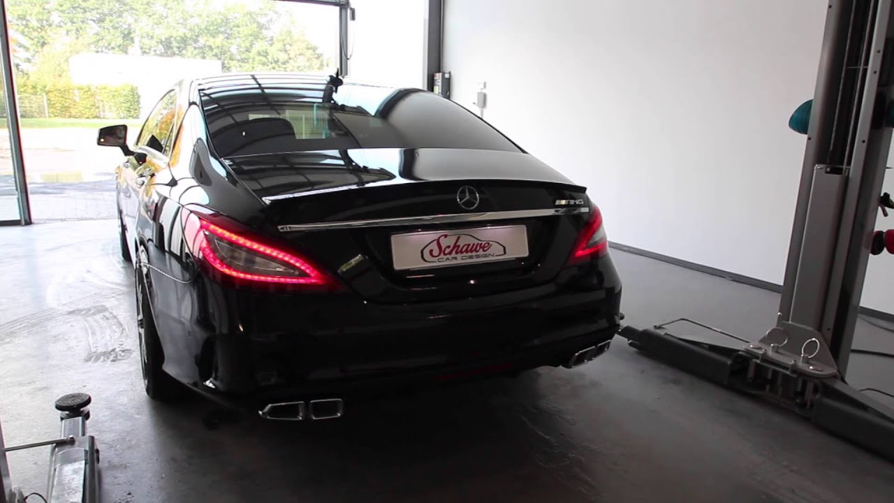 mercedes benz nachr stung v8 motorsound cls facelift 63. Black Bedroom Furniture Sets. Home Design Ideas