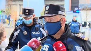 El Black Friday marca el inicio del dispositivo policial de Navidad en Madrid