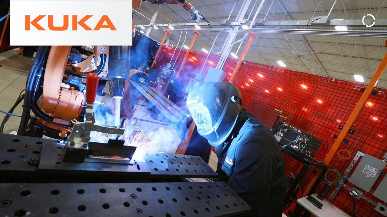Kuka Robotics Welding Techcenter Michigan Usa Walkthrough Youtube