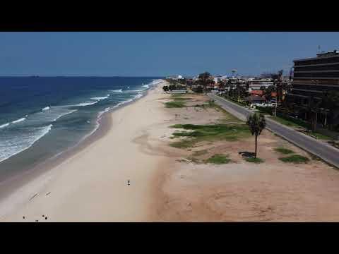 Pointe Noire: Hôtel Palm Beach; plage centre-ville; Tchikobo