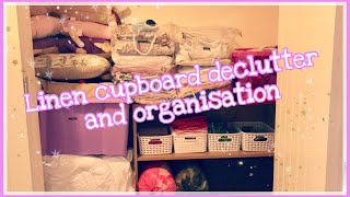 MASSIVE LINEN CUPBOARD DECLUTTER & ORGANISATION | BEFORE & AFTER