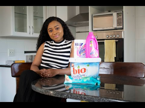 MY GO-TO CLEANING DETERGENTS FEATURING GUEST BEDROOM MAKE OVER | SOUTH AFRICAN YOUTUBER |