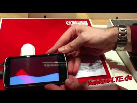 LG Optimus TrueHD LTE (LG P936) - LTE Smartphone bei Vodafone auf IFA 2012 in Berlin